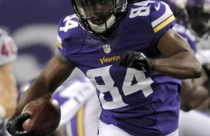 Cordarrelle Patterson figures prominently in Minnesota's plans.  Check training camp reports for how much before you splurge on him in your auction.